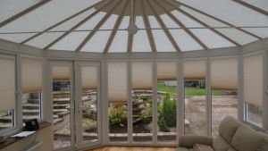 Conservatory Perfect fit roof and window blinds