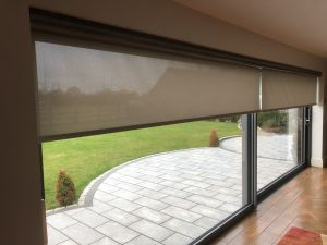 3m wide electric roller blinds