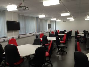 Interactive classroom Staffordshire University